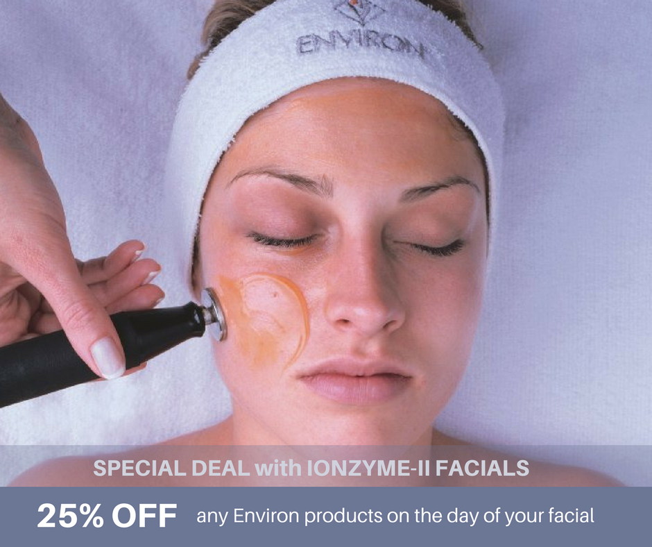 Discount on Environ Products with Facial